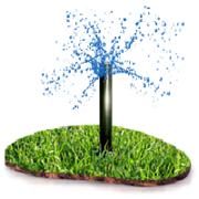 недорого Системы полива,  капельный полив газона,  огорода,  теплиц